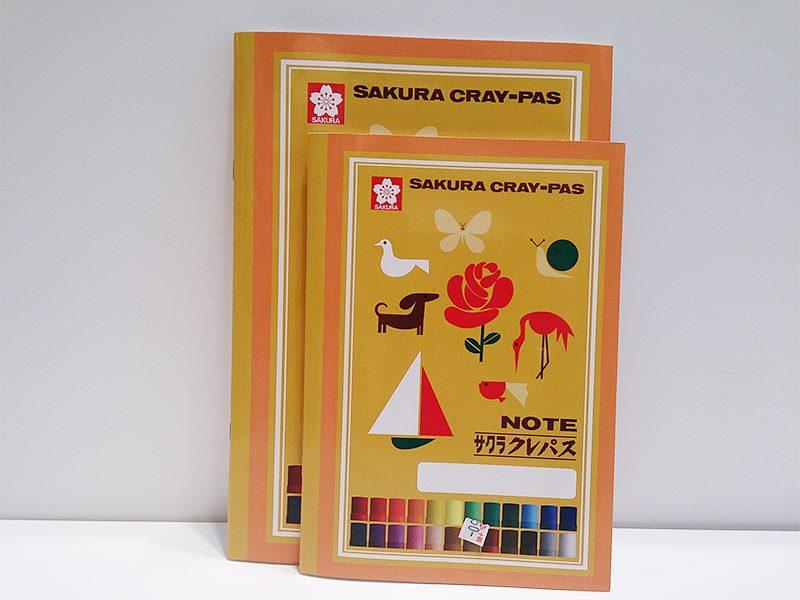 懐かしのサクラデザインのノート達